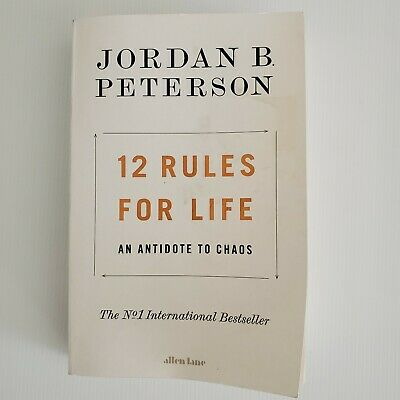 AU13 • Buy 12 Rules For Life An Antidote To Chaos Jordan B Peterson Book