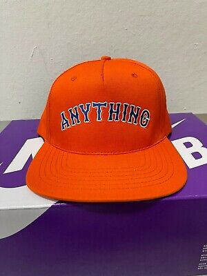 £21.16 • Buy ANYthing A New York Thing NY Orange Supreme Snapback Mets Style