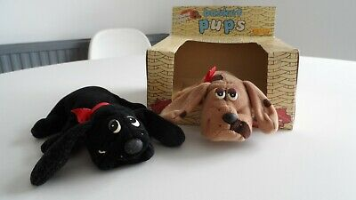 £4.99 • Buy Vintage Hornby Hobbies 1984 Pound Puppies Basket Pups With Box