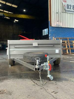 AU1450 • Buy 8x5 High Side Box Trailer Free 1 Year Private Rego And Spare Wheel