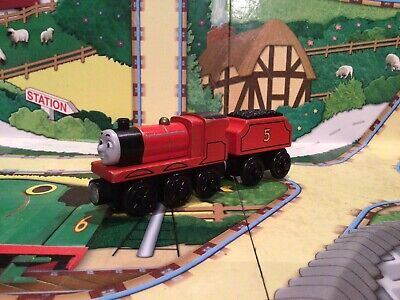 £6.95 • Buy Thomas And Friends Wooden Railway Wooden Train James