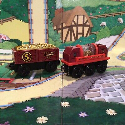 £8.95 • Buy Thomas And Friends Wooden Railway Wooden Train Gold Car & Gold Sifting Car