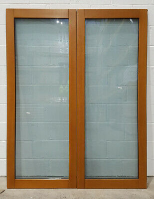 £609.50 • Buy Wooden Timber Oak French Doors External Glazed Pair Finished 1542x1974mm JWD03