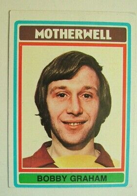 £1.99 • Buy Topps Chewing Gum Inc. Bobby Graham, Motherwell.  Card No.44