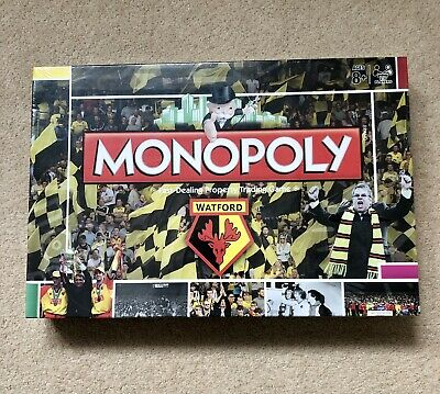£21 • Buy Watford Football Club Monopoly Board Game - Unopened In Cellophane