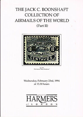 £7 • Buy Airmails Of The World - Harmers Auction Catalogue