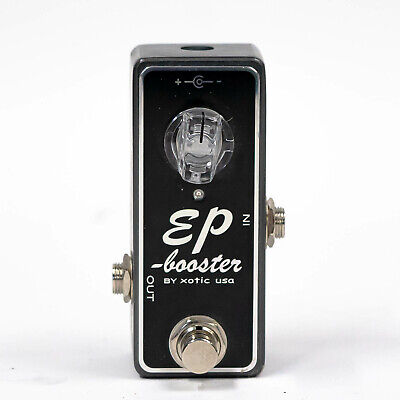 £87.28 • Buy Xotic EP Booster Boost Guitar Effect Pedal / Mini Stompbox