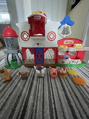 £9.80 • Buy Fisher-Price Little People Caring For Animals Farm Sounds Music Lncludes Figures