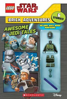 £3.99 • Buy  LEGO Star War Brick Adventures: Awesome Jedi Tales Book - Includes Minifigure