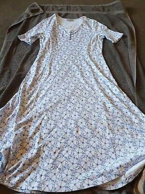 £3 • Buy Cotswold Collection  Medium  Dress  Blue And White  Vgc