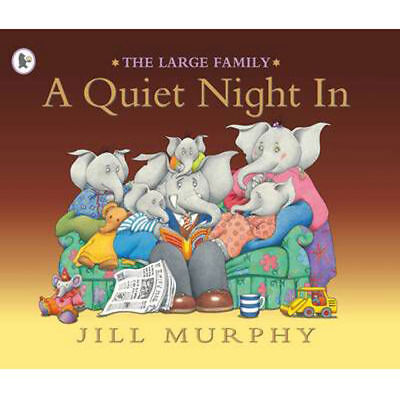 £3.50 • Buy The Large Family: A QUIET NIGHT IN By Jill Murphy - Preschool Bedtime Story Book