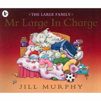 £3.50 • Buy The Large Family: MR LARGE IN CHARGE  Jill Murphy - Preschool Bedtime Story Book