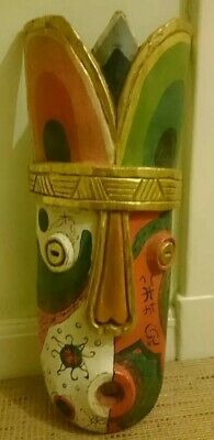 £30 • Buy 1 Large African Tribal Wall Display Decorative Mask