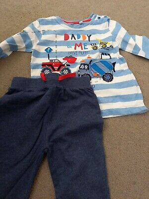 £0.99 • Buy Baby Boys Blue Zoo Outfit Size 12-18months