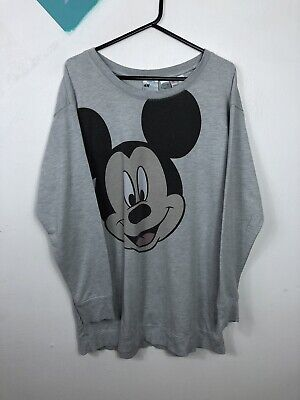 £3 • Buy H&M Retro Style Mickey Mouse Oversize Sweatshirt Top Size Small