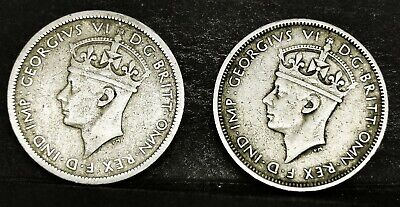 £0.99 • Buy British West Africa 3 Pence 1939H&1940KN (Aunc Coin 5.12gms)George VI