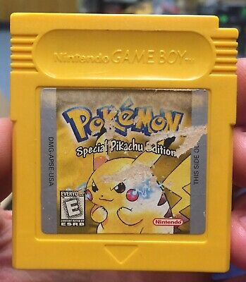 $41 • Buy Pokemon Yellow Version: Special Pikachu Edition Game Boy AuthenticSaves (I)