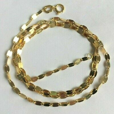 £80 • Buy 375 9ct Gold NEW Woman's Pretty Necklace 18  Long FULLY HALLMARKED