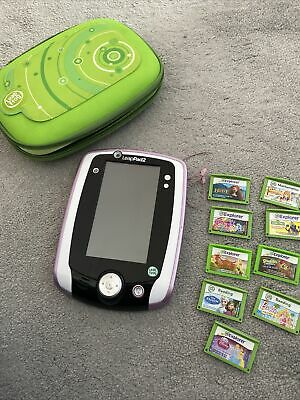 £20 • Buy Leapfrog LeapPad 2 Pink And 9 X Educational Games/ebooks And Case
