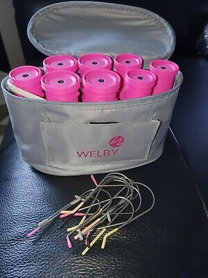 £5.99 • Buy Welby Travel Heated Rollers & Grips. Pre Owned