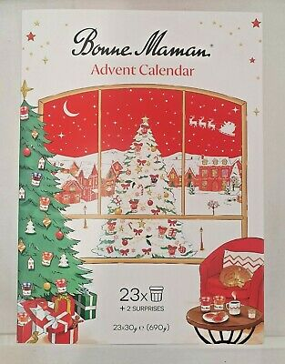 £26.99 • Buy Bonne Maman Advent Calender Jars Christmas Gift Pak Of 23 X 30G -FREE DELIVERY