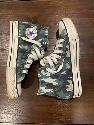 £36.37 • Buy Converse All Star Chuck Taylor Men's Blue Camouflage Sneakers Size Men's 8