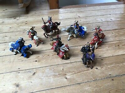£10 • Buy Bundle Of Knights On Horses Toys  From ELC, PAPO