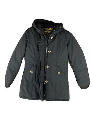 """£22.99 • Buy Woolrich Arctic Parka Girls Kids Down Filled Padded Winter Coat """"10"""""""