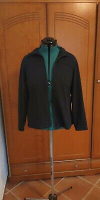 £4.99 • Buy Marks And Spencer Navy Zip Up Long Sleeve Jacket Top Size 22 Vgc