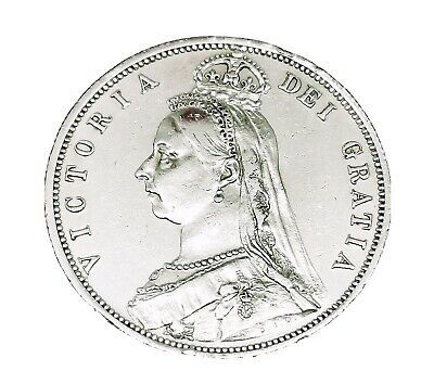 £8.50 • Buy VICTORIA 1887 Half Crown Scarce Sterling Silver Stunning Coin