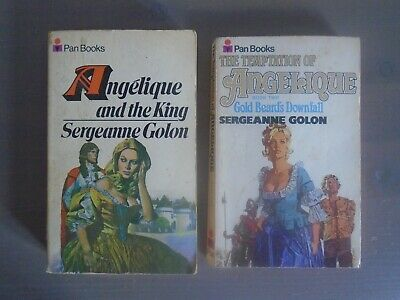 £9.95 • Buy The Temptation Of Angelique/and The King ~ 2 Novels By Sergeanne Golon ~ Pan PB