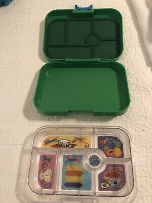 AU32.51 • Buy YUMBOX MiniSnack Leakproof Snack Box Ami Green 6 Compartments