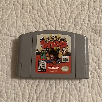 $21.95 • Buy Pokemon Snap (Nintendo 64, 1999) Authentic (Cartridge Only) Tested & Works N64