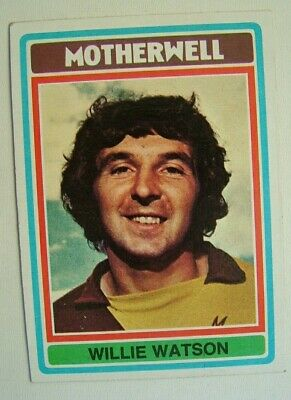 £1.99 • Buy Topps Chewing Gum Inc. Willie Watson. Motherwell.  Card No.63