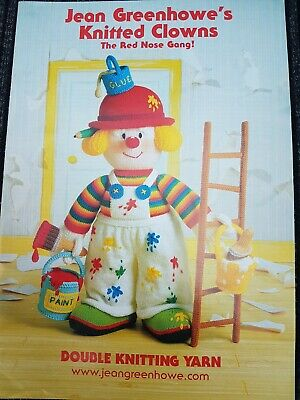 £3 • Buy Jean Greenhowe's Knitted Clowns The Red Nose Gang Knitting Book. NEW