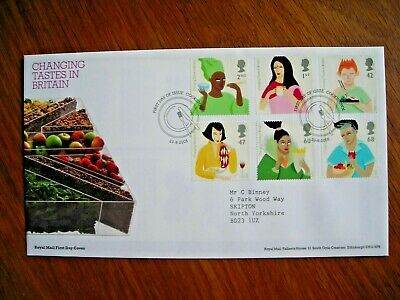 £1.99 • Buy Gb 2005 Gastronomy Set  Fdc Cookstown Cancel