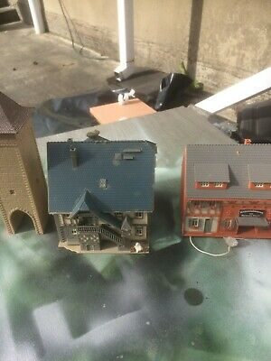£9.99 • Buy  Ho Model Railway 2 House Shop  And A Tower