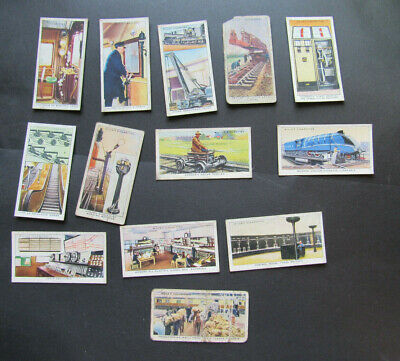 £1.50 • Buy Wills Cigarette Cards 1939 Railway Equipment 12 Different Cards