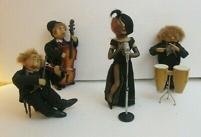 £70 • Buy  The Night Club Band Jazz Musicians Group Characters Ornaments