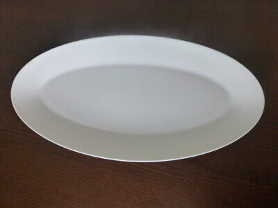 £19.99 • Buy Jasper Conran Wedgwood White Oval Serving Plate 16.5 Inches