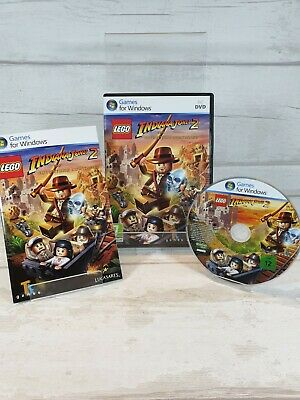 £4.95 • Buy Lego Indiana Jones 2 : The Adventure Continues Pc Game  Good Condition Free Post