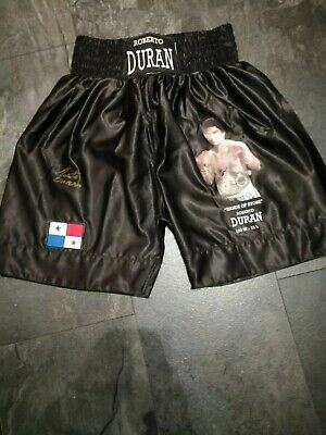 £59.99 • Buy Roberto Duran Signed Picture Shorts