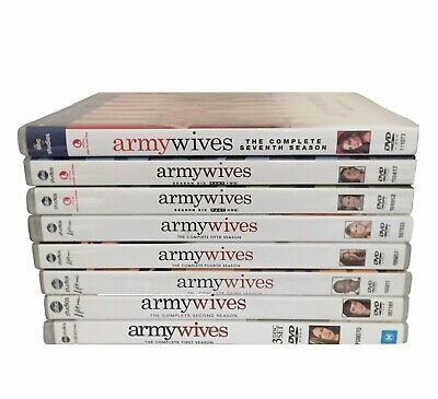 £121.16 • Buy Army Wives: COMPLETE Series DVD Set Seasons 1-7 R1/4 (with Rare Season 6 Part 1)