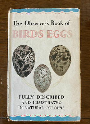 £11 • Buy Observers Book Of Birds Eggs 1959 Edition