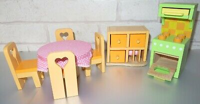 £6.99 • Buy Elc - Wooden Dolls House Furniture - Selection Of Kitchen Items - L@@k