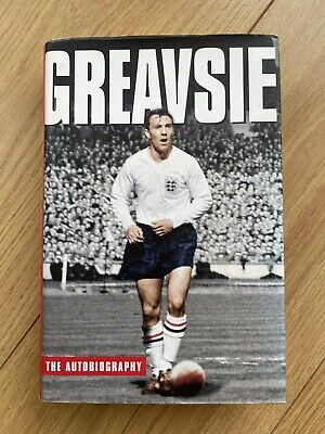 £56 • Buy Greavsie: The Autobiography (Signed - Hardcover, 1st Edition 2003) Jimmy Greaves