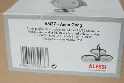 £99.95 • Buy Alessi Anna Gong AM37 Folding Cake Stand Boxed  / Used