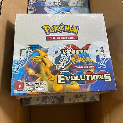 $854.95 • Buy Pokemon Tcg! Xy Evolutions Booster Box English Factory Sealed *very Clean*