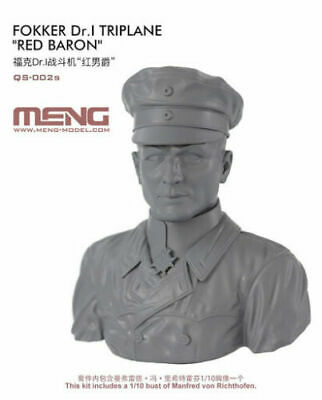 £8 • Buy Meng 1/10 Bust Of Manfred Von Richthofen. Will Go With Wingnut Wings, Roden Etc.