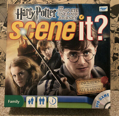 £24.99 • Buy Harry Potter SCENE IT The Complete Cinematic Journey DVD Board Game COMPLETE 🎅